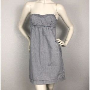 American Eagle Conductor Stripe Sleeveless Dress